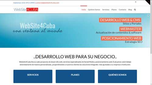 Website4Cuba